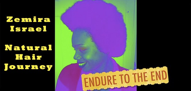 Zemira Israel of the House of Bezaleel's Natural Hair Journey Video